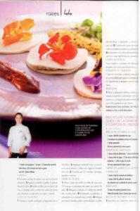 Revista Prazeres da Mesa - Raw Violi de Pupunha com Queijo de Castanha de Caju e Compota de Jabuticaba | Chef Renata Rea - página 1